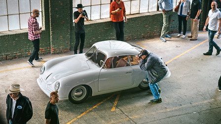 Porsche The Gmünd coupe with chassis number 50