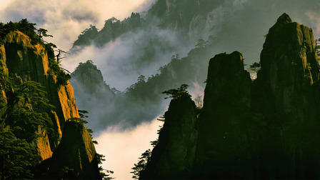 Porsche The Huangshan mountains