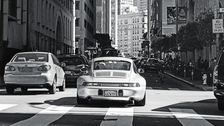 Porsche 911 (993) in San Francisco