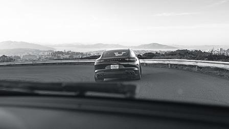Porsche Panamera Turboo at Silicon Valley