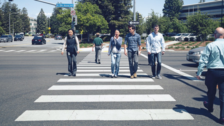 Power-Walking at Silicon Valley