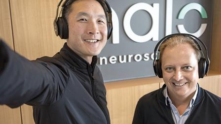 Thilo Koslowski with Daniel Chao