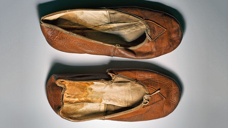 Vaslav Nijinsky's ballet shoes