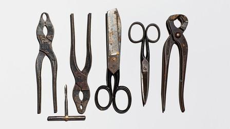 Porsche Adi Dassler's tools