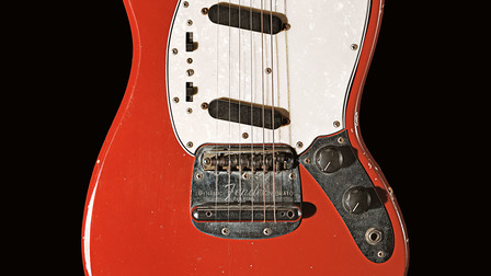 Jimi Hendrix's electric guitar