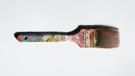 Andy Warhol's paintbrush