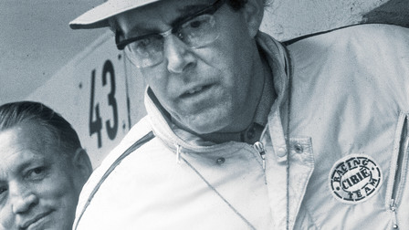 Porsche Peter Falk, former Director of Pre-Series and Racing Development, 1967
