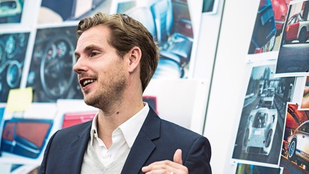 Porsche Ivo van Hulten, head of interior design