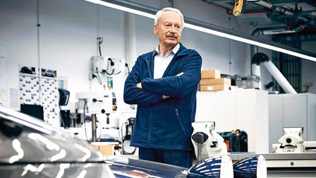 Porsche Hans Clausecker, former suspension expert