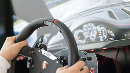 Porsche Racing simulator