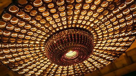 Régis Mathieu`s chandelier
