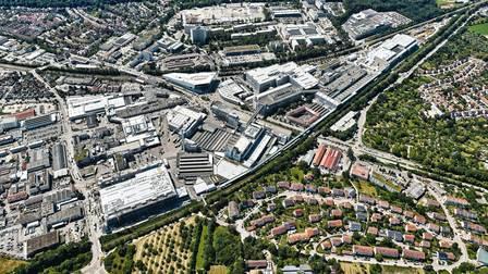 Porsche-Factory grounds