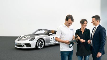Porsche Thorsten Klein, Stéphanie Kleiböhmer and Boris Alpenbrink