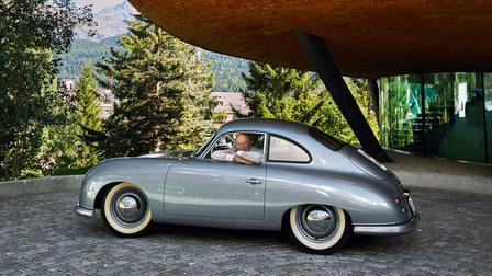 Chesa Futura. Lord Norman Foster unter seinem Haus der Zukunft in Sankt Moritz