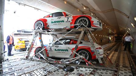 Porsche Logistics masterpiece