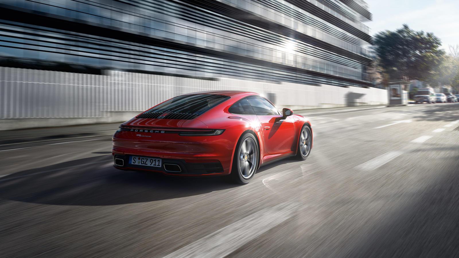 Porsche - 911 Carrera Coupe - Ajatu masin.