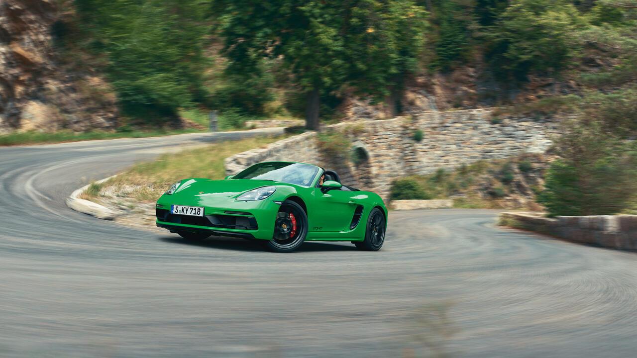 Porsche - 718 Boxster GTS 4.0 - Ходовая часть