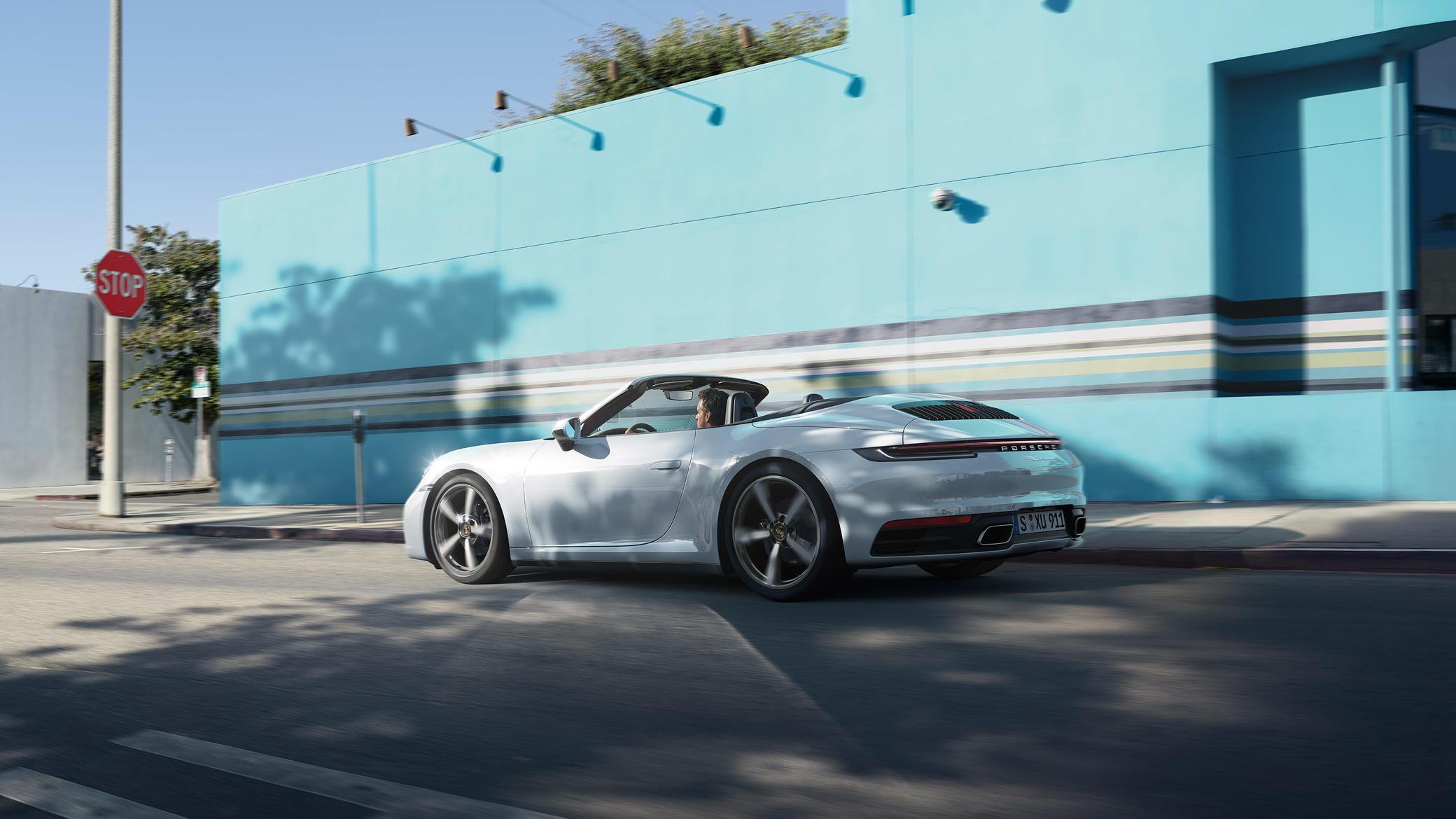 Porsche - 911 Carrera 4 Cabriolet - Ajatu masin.