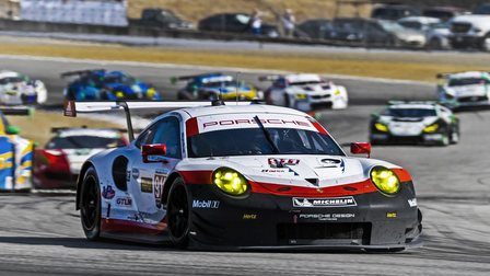 Porsche Mazda Raceway Laguna Seca