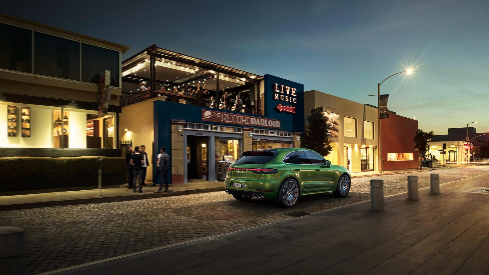Porsche - Macan Turbo - Сильнее, быстрее, ярче.