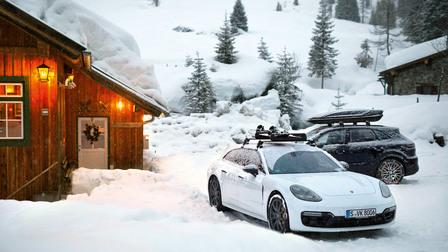 Winterträume mit Porsche Service