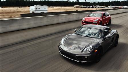 Cayman and Cayenne GTS