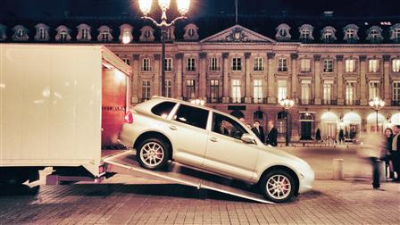 Porsche Cayenne Paris 2002