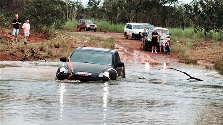 Porsche Cayenne River
