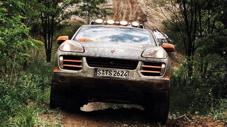 Porsche Cayenne Rallye