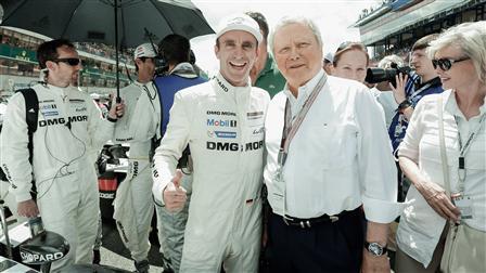 Timo Bernhard, Dr. Wolfgang Porsche