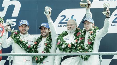 Porsche Place 3 for Team 911 RSR Nr. 92