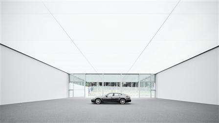 Porsche entrance area, design studio