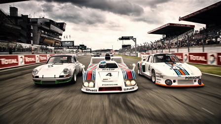 Porsche 911 Carrera RSR, 936 Spyder, 935/77