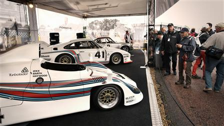 Porsche exhibition area
