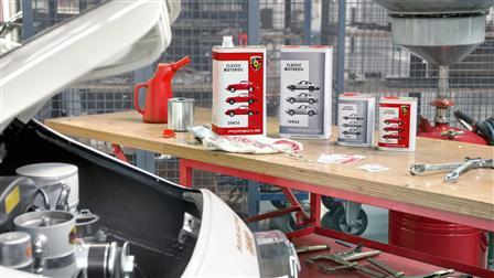 Porsche Classic Radio Motoroil