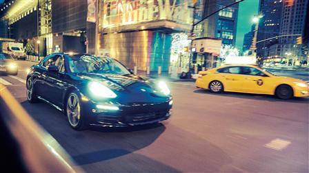 Panamera S E-Hybrid, New York