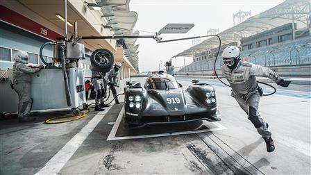Porsche 919 Hybrid, Pit Stop