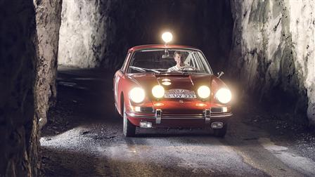 Monte-Carlo 911 of 1965, French Maritime Alps