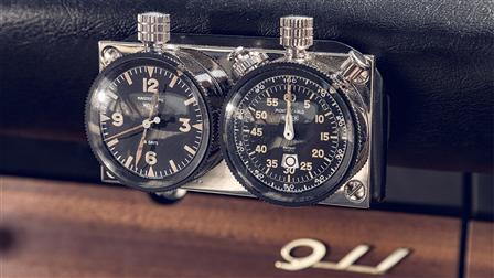 Original Mechanical Stop-Watch and Clock Set