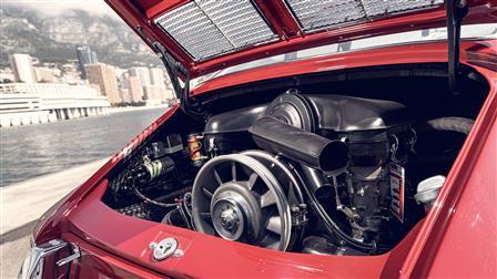 Two-Liter Six-Cylinder Boxer Engine, Fan Wheel