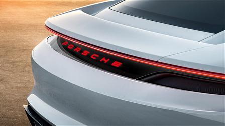 Porsche Concept Study Mission E, Rear