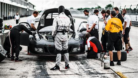 Pit-stop, 911 GT3 R, Sebring (USA)