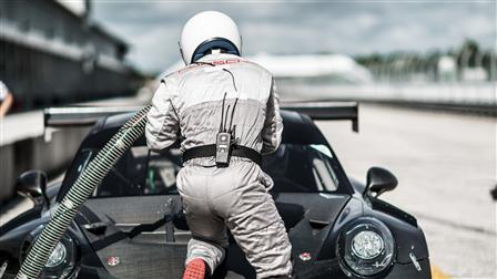 Refueling, 911 GT3 R, Sebring (USA)