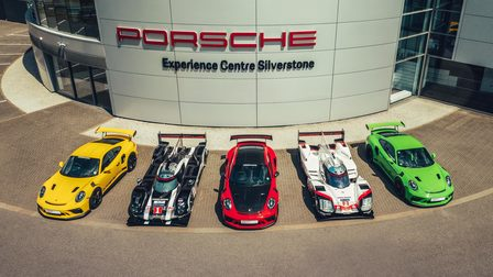 Porsche PEC Exterior Front