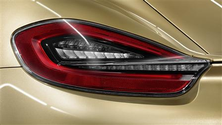 Porsche Dark-tinted tail lights for the Cayman (type 981)