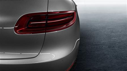Porsche Dark-tinted LED tail lights for the Macan