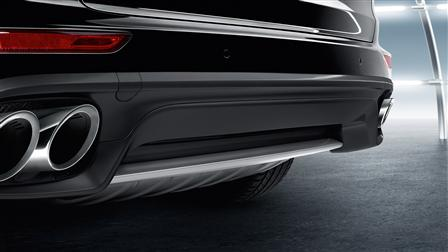 Porsche Stainless steel rear trim for the Cayenne (E2, 2nd generation)