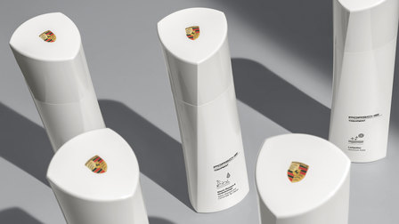 Porsche White Edition car care range