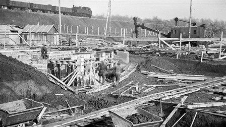 1937: Construction work started on Werk 1