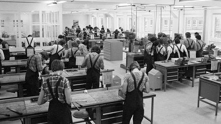 1978: Porsche training workshop in Werk 1
